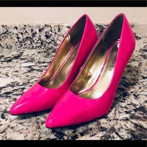 Shoes - Hot Pink High Heels